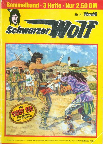 Cover for Schwarzer Wolf Sammelband (Bastei Verlag, 1975 series) #7