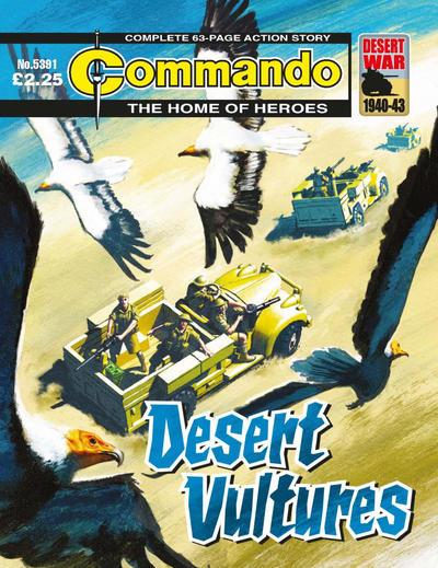 Cover for Commando (D.C. Thomson, 1961 series) #5391