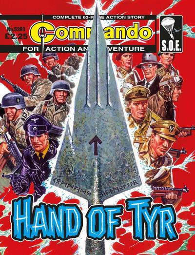 Cover for Commando (D.C. Thomson, 1961 series) #5393