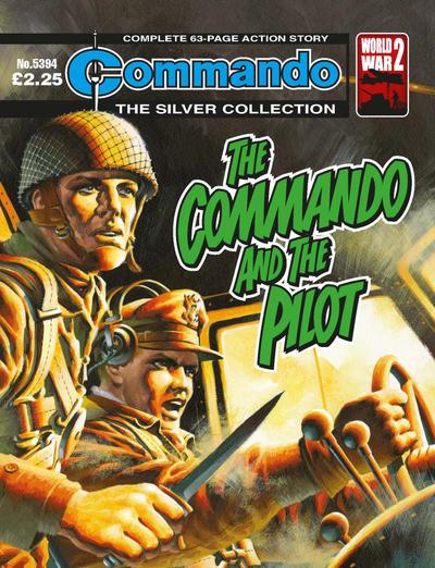 Cover for Commando (D.C. Thomson, 1961 series) #5394