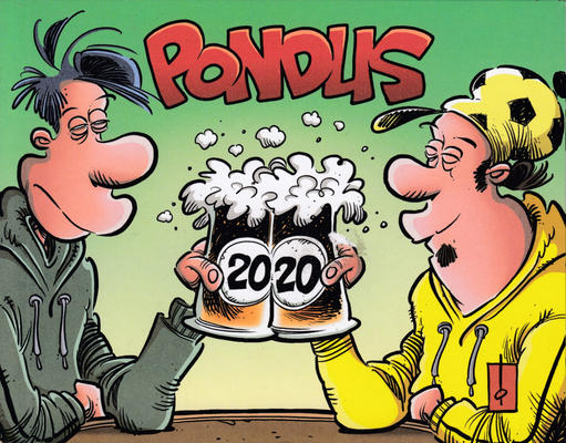 Cover for Pondus dag til dag kalender (Ajasto Almanakkforlaget, 2008 series) #2020
