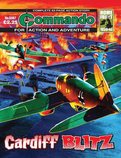 Cover for Commando (D.C. Thomson, 1961 series) #5397