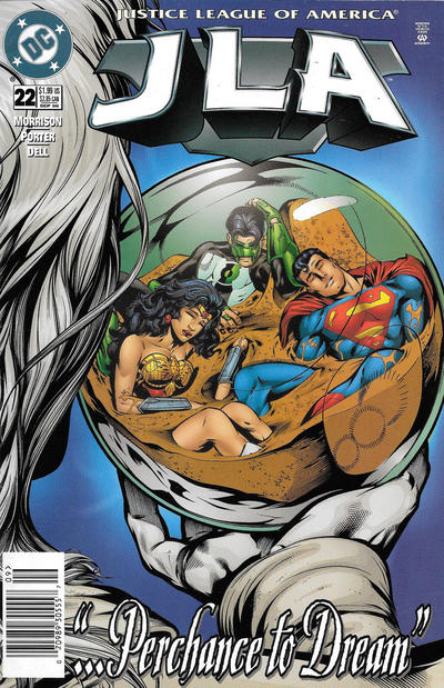Cover for JLA (DC, 1997 series) #22 [Direct Sales]