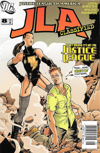 Cover for JLA: Classified (DC, 2005 series) #8 [Newsstand]