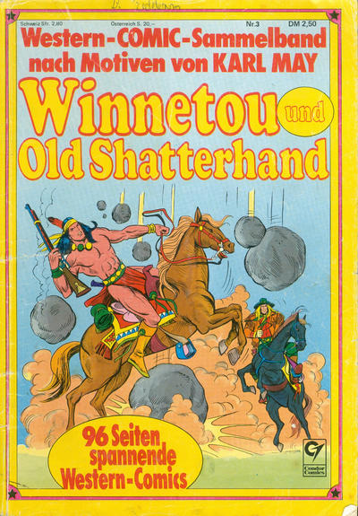Cover for Winnetou und Old Shatterhand Sammelband (Condor, 1978 ? series) #3