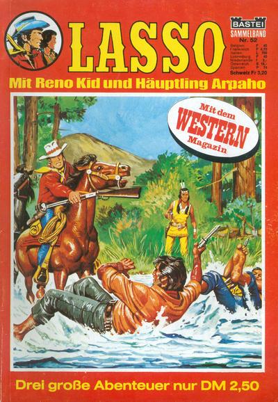 Cover for Lasso Sammelband (Bastei Verlag, 1967 ? series) #52