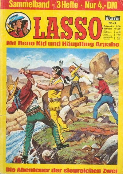 Cover for Lasso Sammelband (Bastei Verlag, 1967 ? series) #74