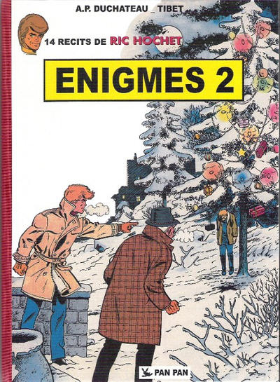 Cover for Ric Hochet (Pan Pan Editions, 2011 series) #2 - Enigmes 2