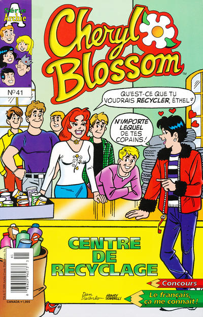 Cover for Cheryl Blossom (Editions Héritage, 1996 series) #41