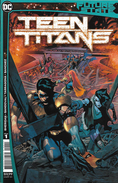 Cover for Future State: Teen Titans (DC, 2021 series) #1