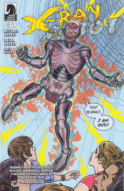 Cover for X-Ray Robot (Dark Horse, 2020 series) #3