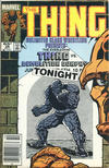 Cover Thumbnail for The Thing (1983 series) #28 [Newsstand]
