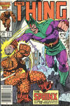 Cover Thumbnail for The Thing (1983 series) #34 [Newsstand]