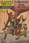 Cover for Classics Illustrated (Gilberton, 1947 series) #34 - Mysterious Island [HRN 167 - Painted Cover]
