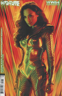Cover Thumbnail for Future State: Superman / Wonder Woman (DC, 2021 series) #1 [Wonder Woman 1984 Movie Photo Cardstock Variant Cover]