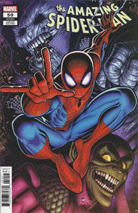 Cover for Amazing Spider-Man (Marvel, 2018 series) #50 (851) [Variant Edition - Inhyuk Lee Cover]