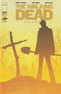 Cover Thumbnail for The Walking Dead Deluxe (Image, 2020 series) #6 [Tony Moore & Dave McCaig Cover]