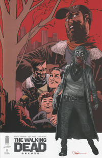 Cover Thumbnail for The Walking Dead Deluxe (Image, 2020 series) #6 [Charlie Adlard Connecting Cover]