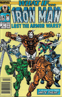 Cover for What If...? (Marvel, 1989 series) #8 [Newsstand]
