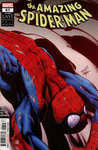 Cover for Amazing Spider-Man (Marvel, 2018 series) #57 (858)