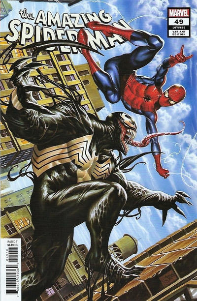 Cover for Amazing Spider-Man (Marvel, 2018 series) #49 (850) [Variant Edition - Mark Brooks Cover]