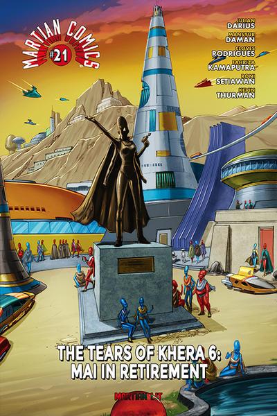 Cover for Martian Comics (Martian Lit, 2014 series) #21