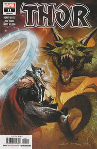 Cover Thumbnail for Thor (Marvel, 2020 series) #11 (737)