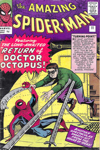 Cover Thumbnail for The Amazing Spider-Man (Marvel, 1963 series) #11 [British]