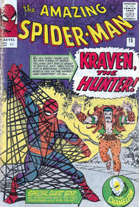 Cover Thumbnail for The Amazing Spider-Man (Marvel, 1963 series) #15 [British]