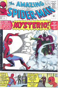 Cover Thumbnail for The Amazing Spider-Man (Marvel, 1963 series) #13 [British]