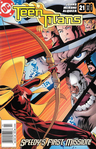 Cover for Teen Titans (DC, 2003 series) #21 [Direct Sales]