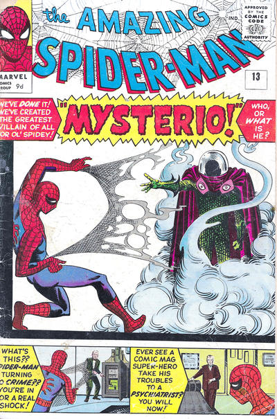 Cover for The Amazing Spider-Man (Marvel, 1963 series) #13 [British]