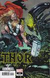 Cover Thumbnail for Thor (2020 series) #11 (737) [Marvel Vs Alien - Daniel Warren Johnson Cover]