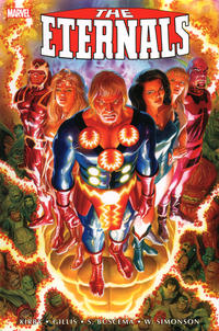 Cover Thumbnail for The Eternals: The Complete Saga Omnibus (Marvel, 2020 series)  [Alex Ross Cover]