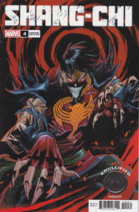 Cover Thumbnail for Shang-Chi (Marvel, 2020 series) #4 [Khary Randolph 'Knullified Variant']