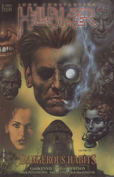 Cover for John Constantine, Hellblazer: Dangerous Habits (DC, 1994 series)  [First Printing]