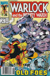 Cover for Warlock and the Infinity Watch (Marvel, 1992 series) #5 [Newsstand]