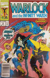 Cover for Warlock and the Infinity Watch (Marvel, 1992 series) #14 [Newsstand]