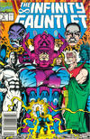 Cover Thumbnail for The Infinity Gauntlet (1991 series) #5 [Newsstand]