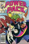 Cover for Power Pack (Marvel, 1984 series) #8 [Canadian]