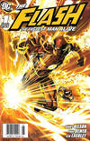 Cover for Flash: The Fastest Man Alive (DC, 2006 series) #1 [Newsstand]