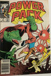Cover for Power Pack (Marvel, 1984 series) #17 [Canadian]