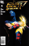 Cover for Justice Society of America (DC, 2007 series) #6 [Newsstand]
