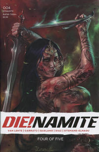 Cover for Die!namite (Dynamite Entertainment, 2020 series) #4