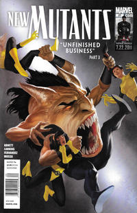 Cover Thumbnail for New Mutants (Marvel, 2009 series) #27 [Newsstand]