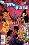 Cover for Teen Titans (DC, 2003 series) #25 [Newsstand]