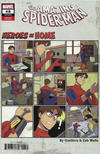 Cover for Amazing Spider-Man (Marvel, 2018 series) #48 (849) [Variant Edition - Heroes at Home - Gurihiru Cover]