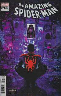 Cover for Amazing Spider-Man (Marvel, 2018 series) #53.LR