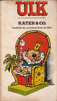 Cover Thumbnail for Ulk (BSV - Williams, 1978 series) #7 - Kater & Co. - Heathcliff, der verrückteste Kater der Welt