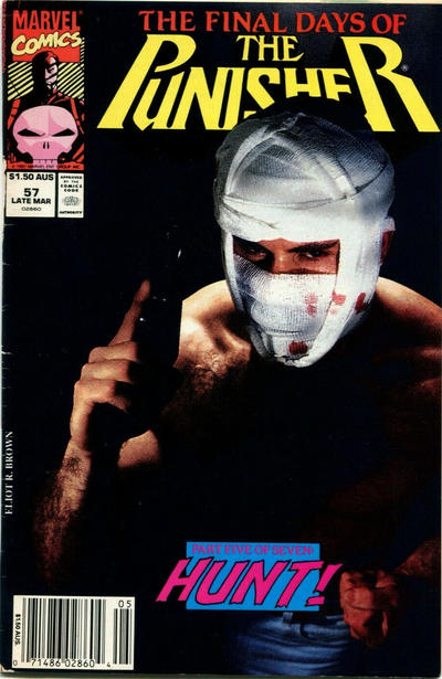 Cover for The Punisher (Marvel, 1987 series) #57 [Direct]
